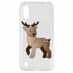 Чехол для Samsung A01/M01 Cartoon deer