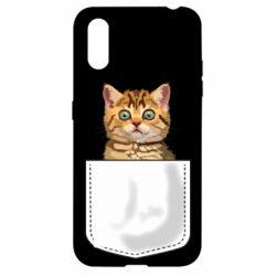 Чехол для Samsung A01/M01 Cat in your pocket