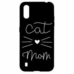 Чохол для Samsung A01/M01 Cat mom