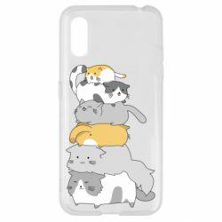 Чохол для Samsung A01/M01 Cats