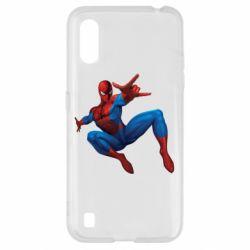 Чохол для Samsung A01/M01 Людина павук