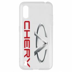 Чехол для Samsung A01/M01 Chery Logo