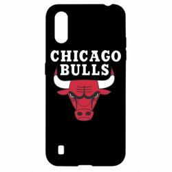 Чехол для Samsung A01/M01 Chicago Bulls Classic