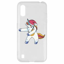 Чохол для Samsung A01/M01 Christmas Unicorn