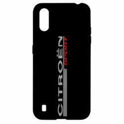 Чохол для Samsung A01/M01 Citroen Спорт