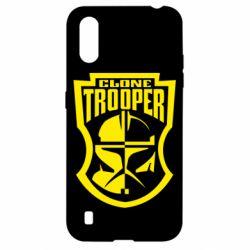 Чехол для Samsung A01/M01 Clone Trooper