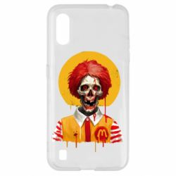 Чохол для Samsung A01/M01 Clown McDonald's skeleton