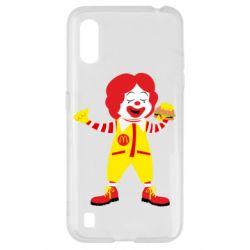 Чохол для Samsung A01/M01 Clown McDonald's