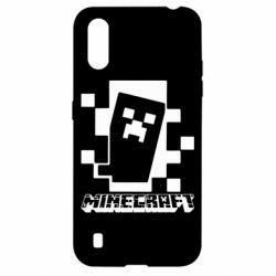 Чохол для Samsung A01/M01 Color Minecraft