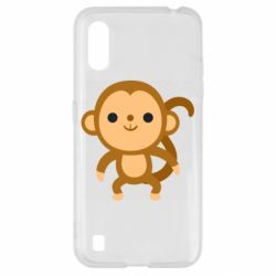 Чохол для Samsung A01/M01 Colored monkey