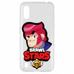 Чехол для Samsung A01/M01 Colt from Brawl Stars