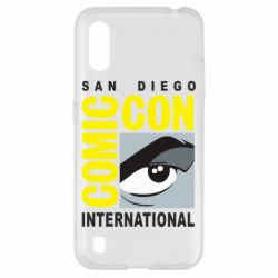 Чохол для Samsung A01/M01 Comic-Con International: San Diego logo