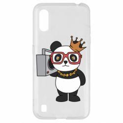Чохол для Samsung A01/M01 Cool panda