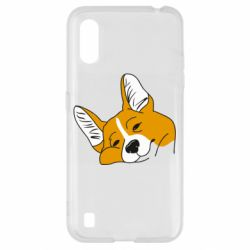 Чохол для Samsung A01/M01 Corgi is dozing