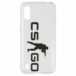 Чехол для Samsung A01/M01 Counter Strike GO