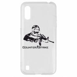 Чехол для Samsung A01/M01 Counter Strike Player