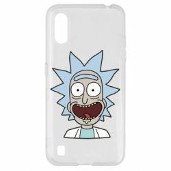 Чехол для Samsung A01/M01 Crazy Rick