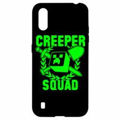 Чохол для Samsung A01/M01 Creeper Squad