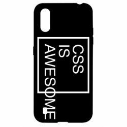 Чохол для Samsung A01/M01 CSS is awesome
