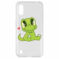 Чохол для Samsung A01/M01 Cute dinosaur