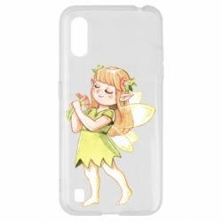 Чохол для Samsung A01/M01 Cute Fairy in watercolor style