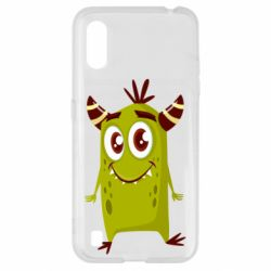 Чохол для Samsung A01/M01 Cute green monster