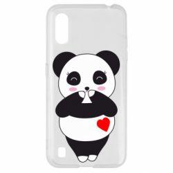 Чохол для Samsung A01/M01 Cute panda