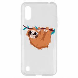 Чохол для Samsung A01/M01 Cute sloth