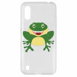 Чехол для Samsung A01/M01 Cute toad