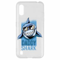 Чехол для Samsung A01/M01 Daddy shark