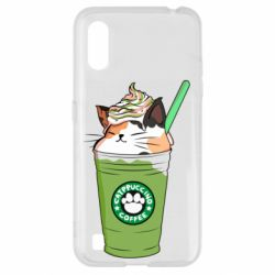 Чехол для Samsung A01/M01 Delicious cat