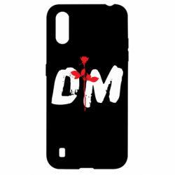 Чехол для Samsung A01/M01 depeche mode logo