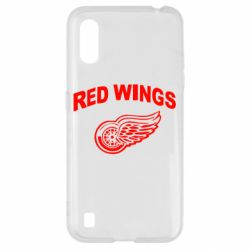 Чохол для Samsung A01/M01 Detroit Red Wings