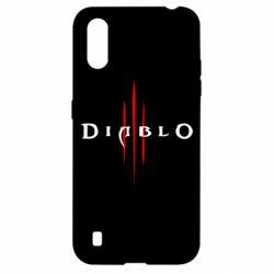 Чехол для Samsung A01/M01 Diablo 3