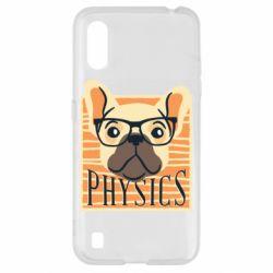 Чехол для Samsung A01/M01 Dog Physicist