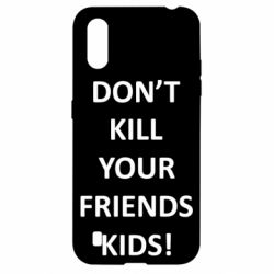 Чохол для Samsung A01/M01 Don't kill your friends kids!