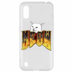 Чехол для Samsung A01/M01 Doom меов cat