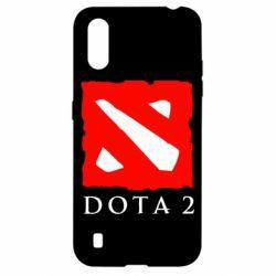 Чехол для Samsung A01/M01 Dota 2 Big Logo