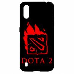 Чохол для Samsung A01/M01 Dota 2 Fire