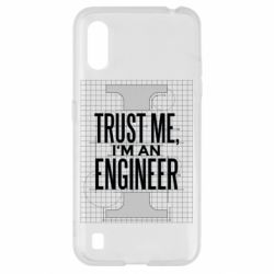 Чохол для Samsung A01/M01 Довірся мені я інженер