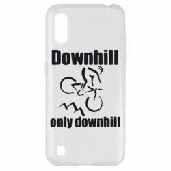 Чохол для Samsung A01/M01 Downhill,only downhill