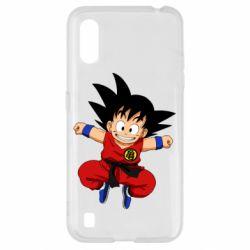 Чохол для Samsung A01/M01 Dragon ball Son Goku