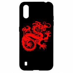 Чехол для Samsung A01/M01 Дракон