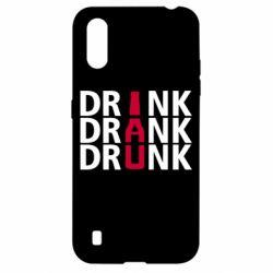 Чехол для Samsung A01/M01 Drink Drank Drunk