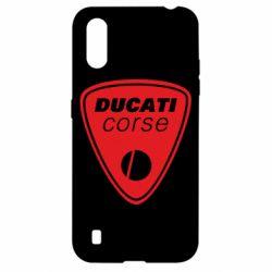 Чехол для Samsung A01/M01 Ducati Corse