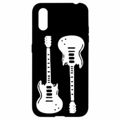 Чохол для Samsung A01/M01 Дві гітари