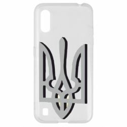 Чохол для Samsung A01/M01 Двокольоровий герб України