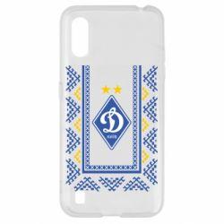 Чехол для Samsung A01/M01 Dynamo logo and ornament