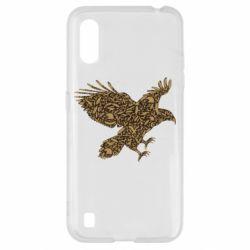 Чехол для Samsung A01/M01 Eagle feather