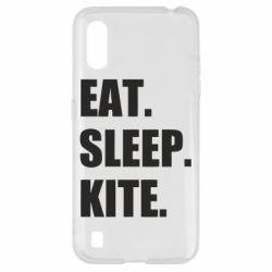 Чохол для Samsung A01/M01 Eat, sleep, kite
